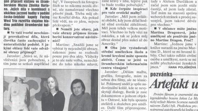 Polášková, Hana: Vybrali jsme svá nejcudnější díla, ... , Deník 10. 2. 2004
