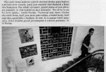 (Pog): Pospolitost mladých výtarníků vystavuje v domě, který obývá, in MF Dnes, 19. 10. 1998