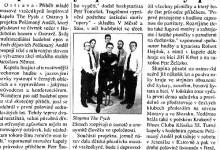 Macháček Jiří: Kapela The Pych předvede rockový epos, in MF Dnes, 26. 10. 1999