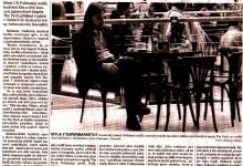 Jiroušek Martin: The Pych hráli o symbolu doby, MF Dnes, 15. 10. 2001