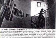 Macháček Jiří: Výstava studentů v domě, MF Dnes, 29. 4. 1998