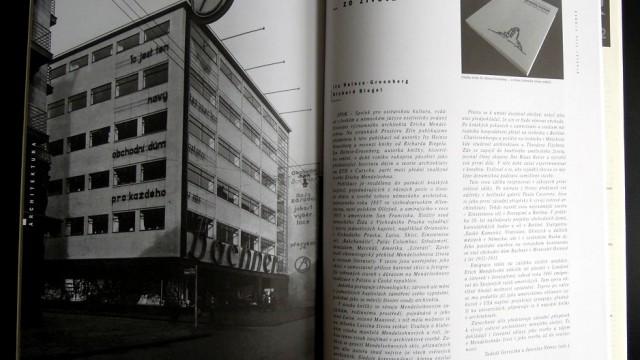 Erich Mendelsohn / časopis Prostor 1/2013