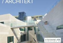 Plakáty výstav Kabinetu architektury v roce 2011