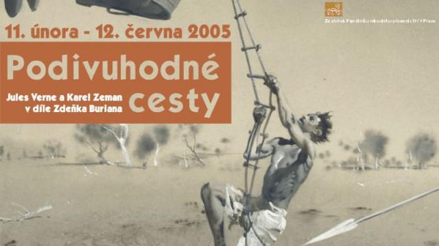 Plakáty pro Muzeum Zdeňka Buriana ve Štramberku