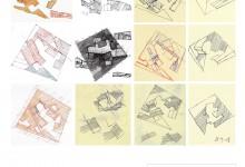 Plakáty pro výstavu Rafi Segal: ARCHITEKTURA: KONCEPCE A TVARY / ARCHITECTURE: CONCEPTS AND FORMS | Kabinet architektury Ostrava