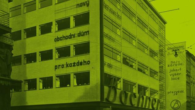 Design výstavy Erich Mendelsohn … ze života / Goethe-Institut v Praze