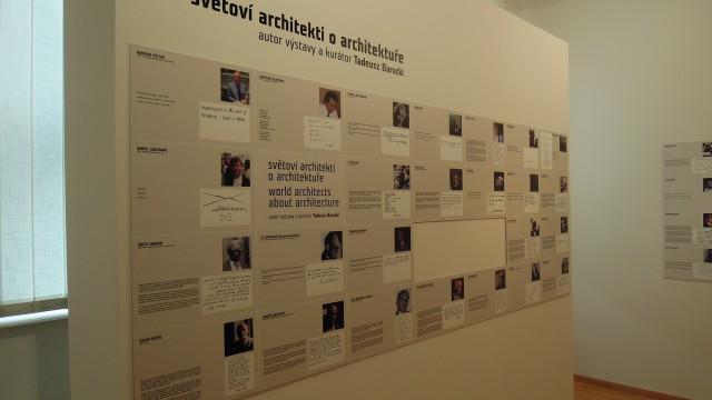 Světoví architekti o architektuře. Tadeusz Barucki