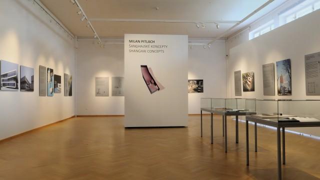 Milan Pitlach – Šanghajské koncepty. Skici / Kaligrafie. 3x Milan Pitlach – Šanghajské práce