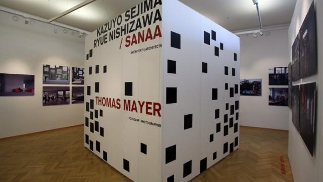 Kazuyo Sejima, Ryue Nishizawa. SANAA. Škola managementu a designu v Zollverein. Thomas Mayer. Fotograf