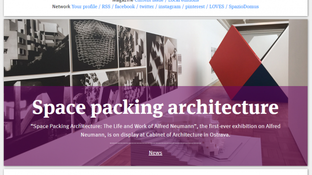 DomusWeb.it: Space packing architecture