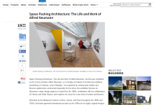 archdaily.com: Space Packing Architecture: The Life and Work of Alfred Neumann