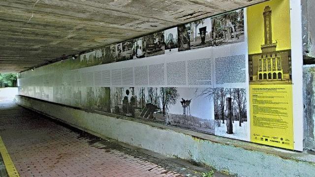 Okrašlovací panely v Komenského sadech v Ostravě / Za Krásnou Ostravu