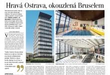 Judita Matyášová: Hravá Ostrava, okouzlená Bruselem / Lidové noviny, 8. 8. 2015