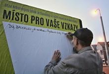 Okrašlovací panely u Městských Jatek / Za Krásnou Ostravu