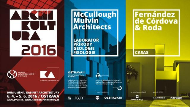 Propagační materiály pro festival Archikultura 2016