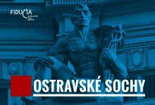 Soubor pohlednic Ostravské sochy / spolek Fiducia