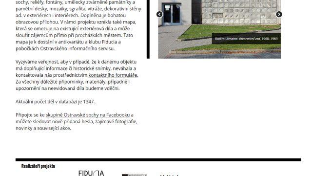 Webdesign – ostravskesochy.cz